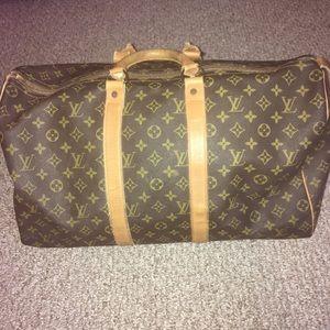 Louis Vuitton luggage tote
